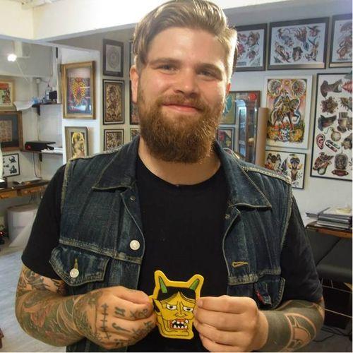 Tattoo artist Antti Kuurne #artist #tattooartist #AnttiKuurne
