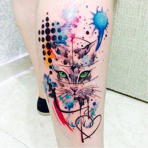 Por Jessica Damasceno! #JessicaDamasceno #AquarelaTattoo #Aquarela #Watercolortattoo #watercolor #TatuadorasBrasileiras
