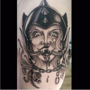 Snaggletooth pin-up by Olivia Chell #OliviaChell #motörhead #motorhead #pinup #snaggletooth