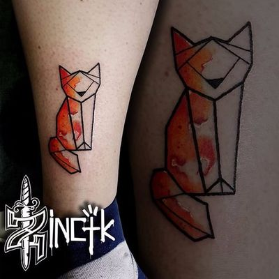 Martin Tattooer #origami #origamiart #origamitattoo #tsuru #papercrane #MartinTattooer