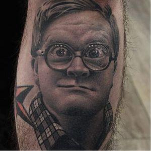 Ryan Evans tattoos. (via IG - ryan_evans) #RyanEvans #Portraits #CelebrityPortraits #Celebrities