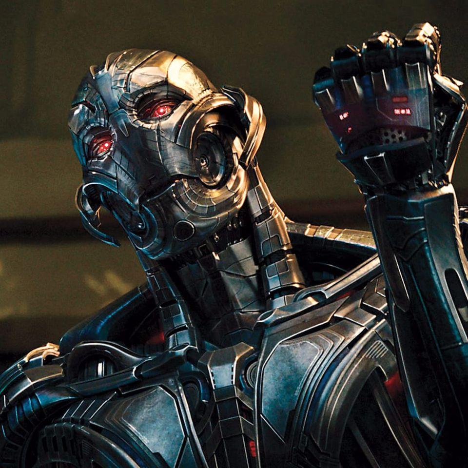 Ultron wants your tattooing job. #RobotTattoos #Robot #Robots