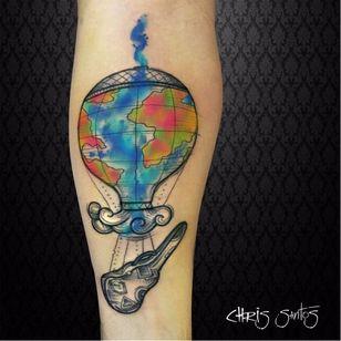 #ChrisSantos #musica #music #tatuadoresdobrasil #colorida #colorful #balao #balloon