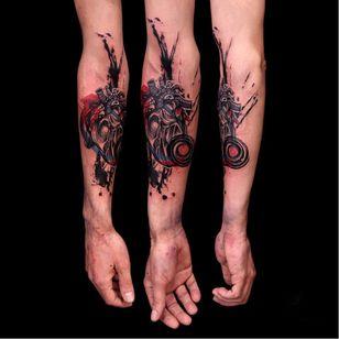 Anatomical heart tattoo by Mirco Campioni #MircoCampioni #graphic #anatomicalheart
