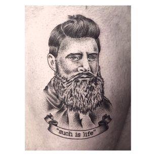Ned Kelly Tattoo by @smith.ink #NedKelly #NedKellyTattoo #OutlawTattoo #FolkloreTattoos #AustralianTattoos #SmithInk