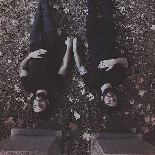 Ryan and Matthew Murray (via IG-blackveiltattoo) #blackandgrey #halloween #spooky #macabre #MatthewMurray #RyanMurray #BlackVeilStudio