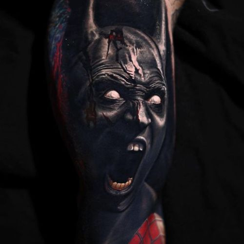 Insane portrait by Nikko Hurtado #batman #batmanbeyond #movie ##portrait #NikkoHurtado