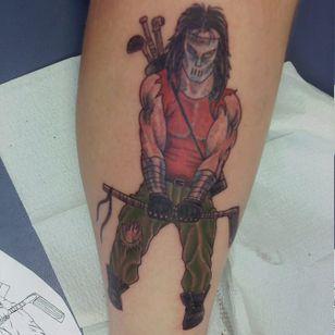 Casey Jones tattoo #caseyjones #caseyjonestattoo #TeenageMutantNinjaTurtles #tmnttattoo