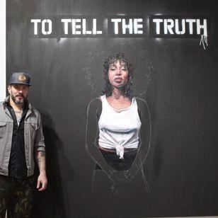 Tim Okamura at Volta NY (Photo by KD Diamond) #ArmoryArtsWeek #Art #NYC