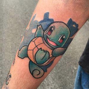 Squirtle tattoo by Michela Bottin. #MichelaBottin #anime #pokemon