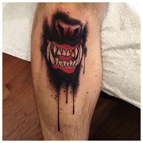 Feeding mouth. (via IG - the_hyena) #RonHenryWells #TheHyena #Creepy #mouth