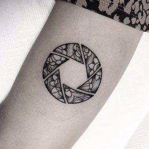 Photography tattoo by Mateus Wojtak. #photography #camera #photo #photographer #contemporaryart