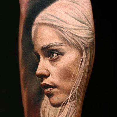 Daenerys Targaryen de Game of Thrones #NikkoHurtado #gringo #realismo #realism #realismocolorido #daenerystargaryen #emiliaclarke #gameofthrones #got #serie #tvshow #nerd #geek #georgerrmartin #portrait #retrato