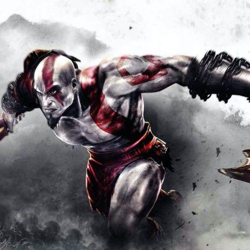 The badass Kratos via Gods of War. #tattooedcharacters #videogames
