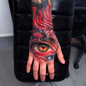 #AndresAcosta #tatuadorgringo #realismo #realism #coloridas #colorful #galaxia #galaxy #universo #universe #olho #eye #estrelas #stars