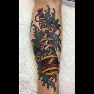 Tattoo by Suzi Q #Telescope #TelescopeTattoo #TelescopeTattoos #FunTattoos #SuziQ