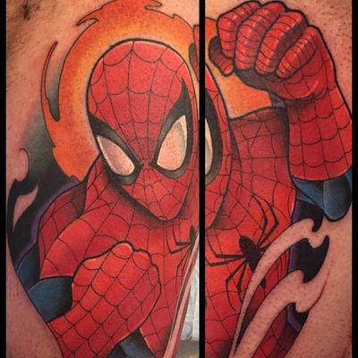 O fotógrafo herói! #DavidTevenal #comics #quadrinhos #hq #nerd #geek #coloridas #colorful #spiderman #homemaranha #marvel