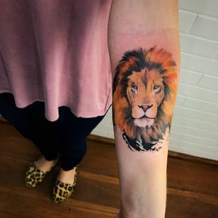 Leão #LCJunior #brazilianartist #brasil #brazil #tatuadoresdobrasil #aquarela #watercolor #leao #lion #animal #reidaselva