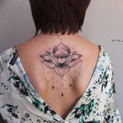 Flor de lotus por Marcelo Ret! #MarceloRet #TatuadoresBrasileiros #TatuadoresdoBrasil #TattooBr #TattoodoBr #lotusflower #flordelotus #flor #flower