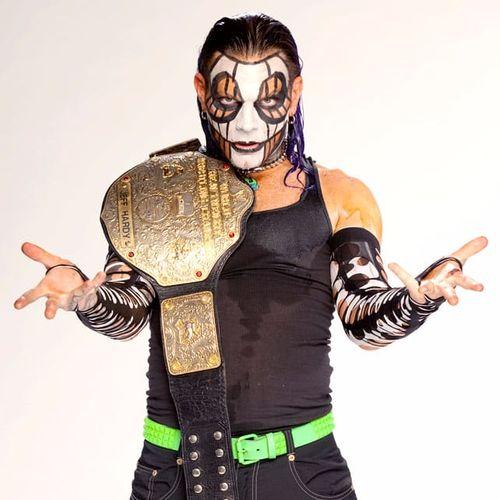 Hardcore wrestling fanatic Jeff Hardy #WWE #wrestling #bodypaint #facepaint #bodyart #makeup #JeffHardy
