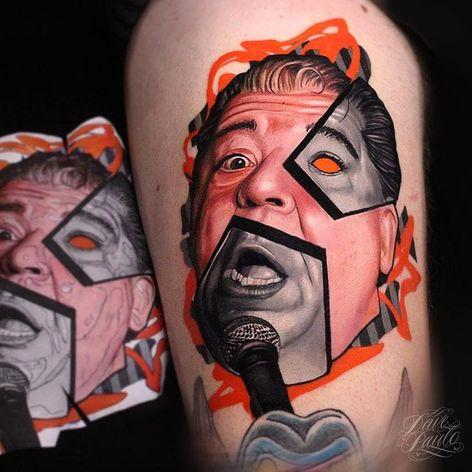 #DavePaulo #gringo #realismo #realism #colorido #colorful #portrait #retrato #colagem #collage #homem #man #pretoecinza #blackandgrey #microfone #microphone