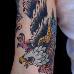 Eagle by Grez #daredevil #flash #traditional #kingsavenue