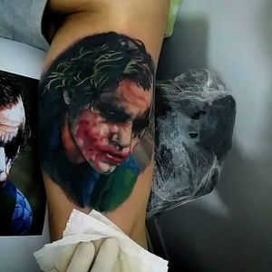 Heath Ledger! #coringa #heathledger #joker #nerd #batman #colorida #MatheusSacom #brasil #brazil #portugues #portuguese