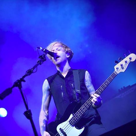 Biffy Clyro bassist James Johnston #music #rock #BiffyClyro