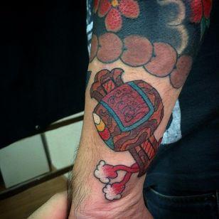 Uchide no Kozuchi Tattoo by Felipe Murasaki #UchidenoKozuchi #Japanese #hammer #FelipeMurasaki