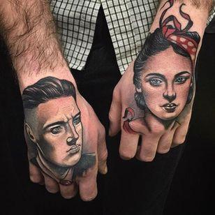 Tattoo by Tim Tavaria #neotraditional #realism #neotraditionalrealism #TimTavaria
