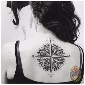 Rosa dos ventos #ApolonioLuz #tatuadoresbrasileiros #tatuadoresdobrasil #sketchtattoo #blackwork