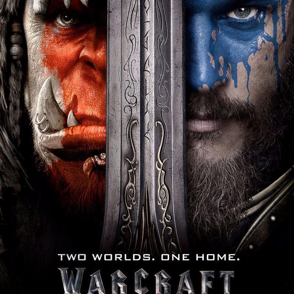 Um dos pôsteres oficiais do filme #warcraft #movie #poster #wow