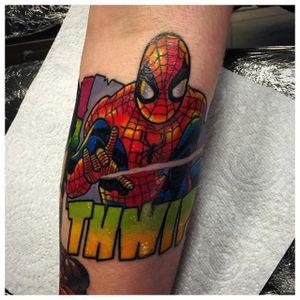 Spider-Man Tattoo by Matt Daniels #SpiderMan #Marvel #Superhero #Comic #MattDaniels