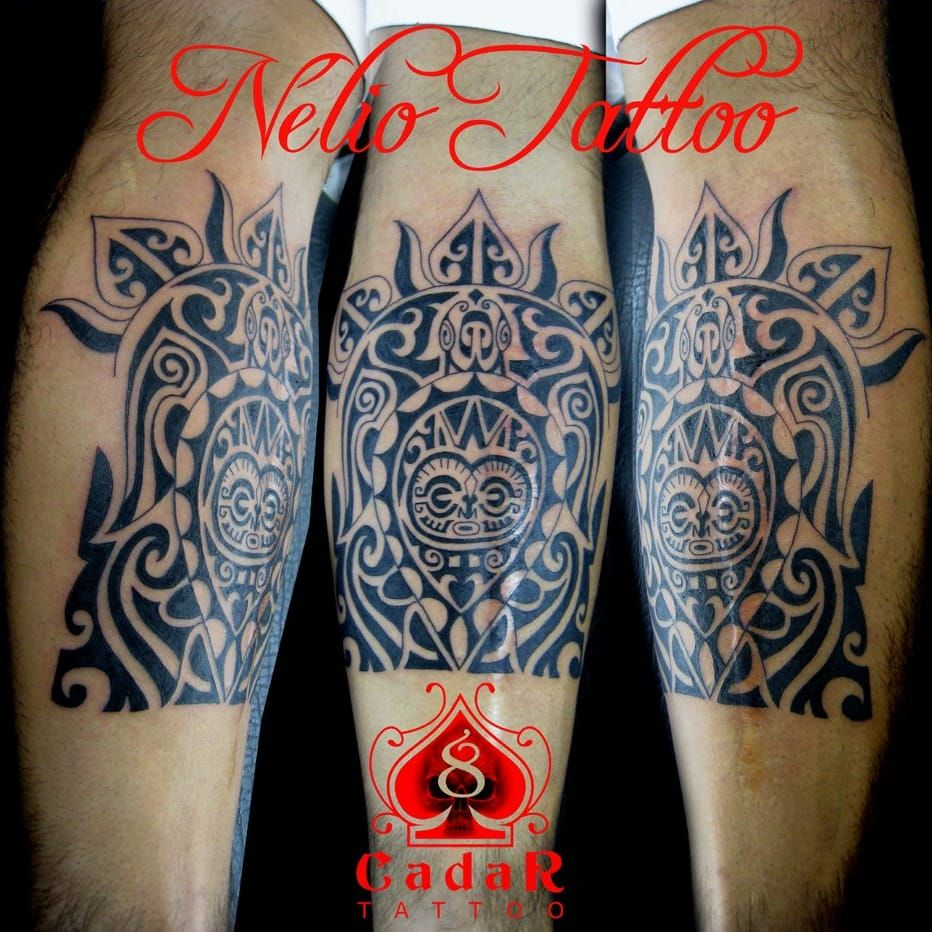 Tatuagem tribal estilizada! #NelioCadar #tribal #tribalMaori #RadacTattoo #brasil #brazil #portugues #portuguese