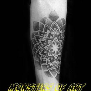 Mandala tattoo by Dan Gold #dangold #londonink #mandala (Photo: Instagram)