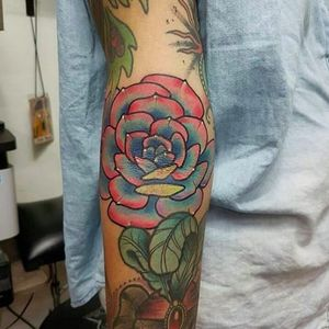 Succulent tattoo in the elbow ditch, artist unknown, from IG-evelynhenao7 #succulent #plant #botany (Photo: Instagram)