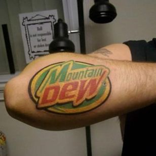 Most extreme forearm in the game #mtdew #mountaindew