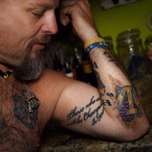 Rhadigan shows off his Michigan pride. #JayRhadigan #Michigan #MichiganWolverines #UniversityofMichigan