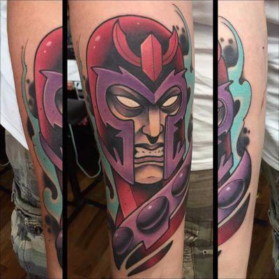 Magneto boladã0! #DavidTevenal #comics #quadrinhos #hq #nerd #geek #coloridas #colorful #magneto #xmen