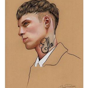 Elena Pancorbo Illustration. #ElenaPancorbo #artist #tattoodrawing #traditionalart #illustrator #tattooedillustration