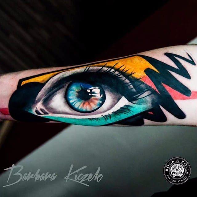 Estamos de olho #BarbaraKiczek #gringa #colorido #colorful #grafico #graphic #comics #olho #eye #realism #realismo