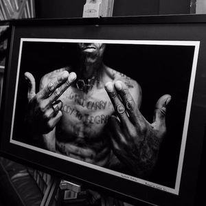 Prison gang tattoos exhibition #capetown #prisontattoos #exhibition #photography