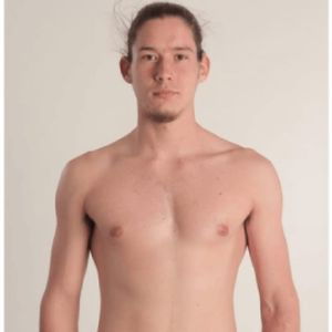 A man without tattoos. #science #Scientificstudy