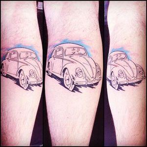 Lindinho e fofinho #BinhoTattoo #Fusca #Beetle #volkswagen #carro #car #automovel #carlovers #aquarela #watercolor