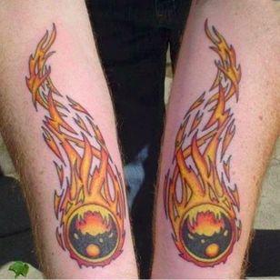 These balls are on fire (via IG -- pinballink) #pinball #pinballtattoo
