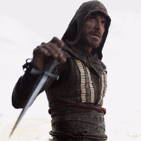 Michael Fassbender's character in Assassin's Creed. #AssassinsCreed #MichaelFassbender #Hollywood #Movies