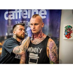 Photo by Kera Kerson, taken from Instagram @tattoofestconvention #Krakow #TattooFest #Poland #BamBam