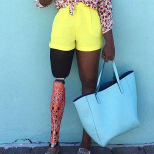 """""""Bloom"""" cover via instagram alleles #prosthetics #prosthetic #fashion #alleles"""