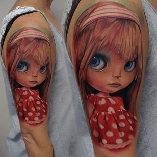 Bly the Doll by James Artink. #doll #BlytheDoll #realism #colorrealism #JamesArtink
