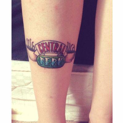 Logo do Central Perk #MattFeugill #friends #tvshow #serie #rachel #ross #monica #phoebe #joey #chandler #cemtralperk #cafe #coffee